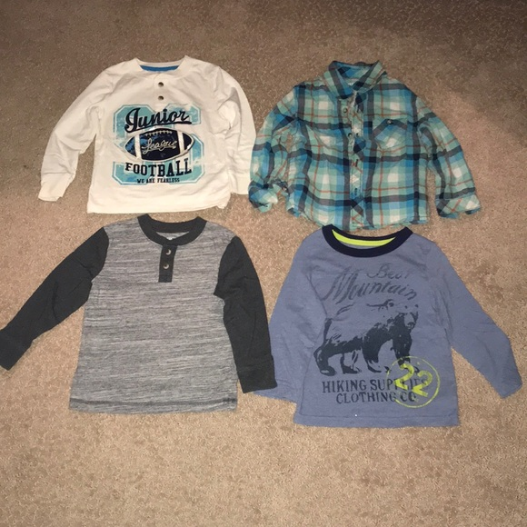9aa4e76e7d4 Cherokee Shirts & Tops | Long Sleeve Tops 4 Boys Size 3t | Poshmark